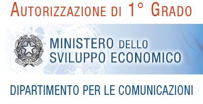Autorizzazione dal Ministero dello Sviluppo Economico